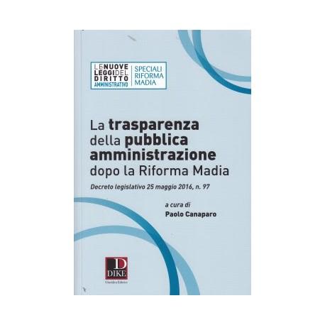 La trasparenza della pubblica amministrazione dopo la riforma Madia