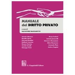 MANUALE DI DIRITTO PRIVATO 2016