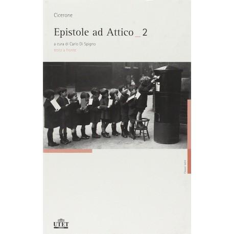 Epistole ad Attico. Testo latino a fronte (2 vol.)