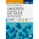 EdiTest Università Cattolica. Medicina, Odontoiatria, Professioni Sanitarie. Teoria & Test. Con espansione online