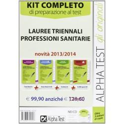 Lauree triennali professioni sanitarie. Kit di preparazione al test (manuale di preparazione, eserciziario commentato)