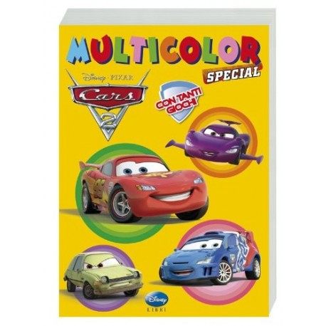 Cars 2. Multicolor special