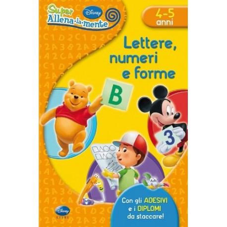 Lettere, numeri e forme. Con adesiv