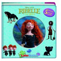 Ribelle. The Brave. Libro puzzle